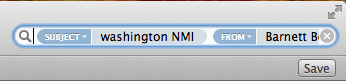 Mac Mail Search